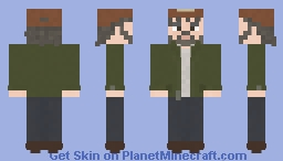 Kenny | The Walking Dead | The Walking Dead Telltale Game Minecraft Skin