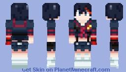 Ryuko Matoi - Kill la Kill Minecraft Skin