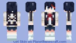 Ryuko Matoi (Street Clothes) - Kill la Kill Minecraft Skin