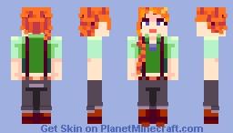 Leah || Stardew Valley Minecraft Skin
