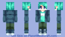 "⊗ [Chabilulu] ⊗ ""Let the lightning strike . . ."" [ST] with Sensuki ! ⊗ Minecraft Skin"