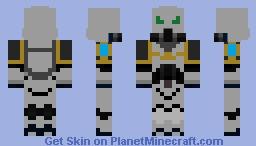 Lightning Bearers Space Marine Minecraft Skin