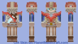 Medieval Sergeant Minecraft Skin