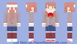 DDLC - Monika Minecraft Skin