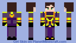 the PERSON (dont accualy have a name yet) Minecraft Skin
