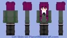 p u r p l e Minecraft Skin