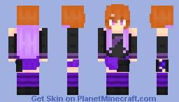 Ninomiya Asuka Minecraft Skin