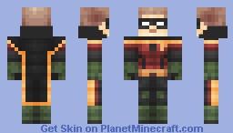 Robin (Arkham Knight) Minecraft Skin