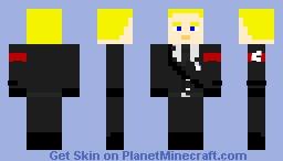 Reinhard Heydrich (without hat) Minecraft
