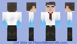 Ice Boosted Steve (Request) Minecraft Skin