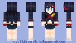 Ryuko Matoi Minecraft Skin