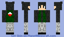 Uchiha Male Minecraft Skin