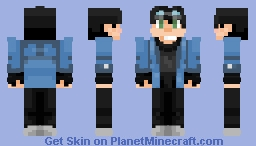 dfox20's Request! [Better in 3D] Minecraft Skin