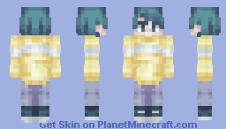 This is a Skin trade and I'm uncreative with titles // Moridis Minecraft Skin