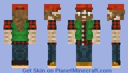 Lumberjack skin Minecraft