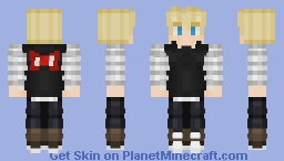 If you can guess who this is without checking the tags I'll be your friend Minecraft Skin