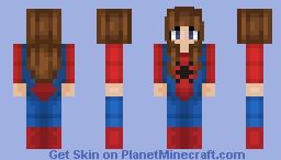 Spider-Man Girl Minecraft Skin