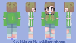 personal skin -- ❤️𝓚𝓐𝓣𝓚𝓘𝓣💔 Minecraft