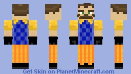 Hello Neighbor (Neighbor) Minecraft Skin