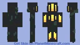 Underwater Ocean Dweller Minecraft Skin