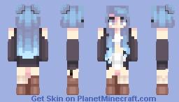 Hallow -- st with SharaxBlackout Minecraft Skin