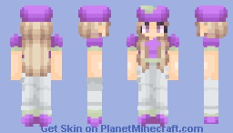 Apples are good, but have you considered a grape? Minecraft Skin
