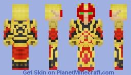 Blood elf [Spell Breaker, Warcraft 3] Minecraft Skin