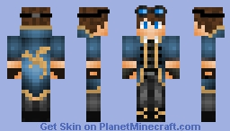 Therudmaker Steampunk version Minecraft Skin