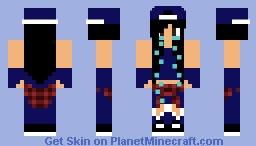 Tiger Layla Jefferson Minecraft Skin