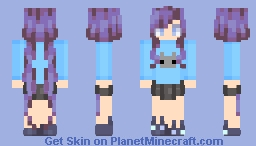 Cute cat lady Minecraft Skin