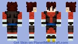Xeno Vegito (Super Dragon Ball Heroes) Minecraft Skin
