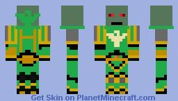 Primarch Vulkan Minecraft Skin