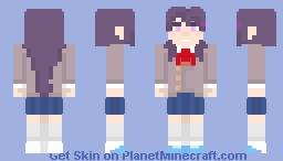 DDLC - Yuri Minecraft Skin
