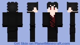Zack Branwen RWBY OC (Different Hair) Minecraft Skin