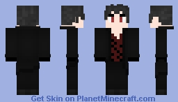 Zack Branwen RWBY OC (Updated) Minecraft Skin