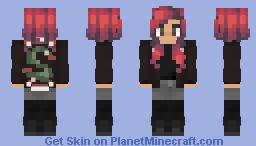 Toni Topaz | Riverdale Minecraft Skin
