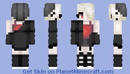 beanie girl Minecraft Skin