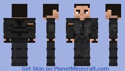 The Walking Dead-Alvaro Minecraft Skin