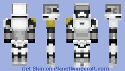 Captain Phasma Minecraft Skin