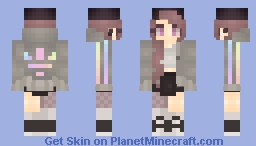 ❆𝓝𝓲𝓷𝓳𝓪𝓖𝓲𝓻𝓵2024❆ Rainbowdreamz (Kimies Skin Contest) Minecraft