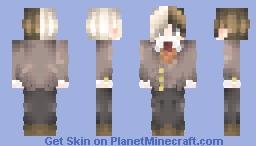 🌸Hero Ethan is Back... And in Doki Doki Literature Club!🌸 [OmgItsHeroSenpaiMSA's Request] Minecraft Skin