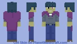 Gorillaz - Murdoc Minecraft Skin
