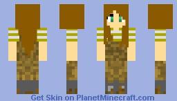 Farmer's Daughter (Or So Seems) Minecraft Skin