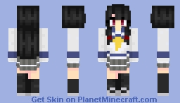 Kagerou-class Destroyer - Isokaze Minecraft Skin