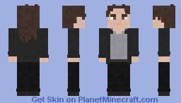 The Walking Dead Telltale- Lilly Minecraft Skin