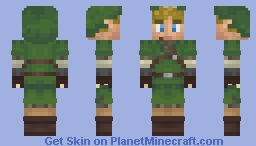 Link | The Legend of Zelda - Skyward Sword Minecraft Skin
