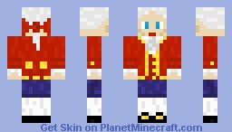 Wolfgang Amadeus Mozart Minecraft Skin