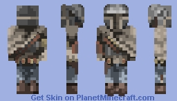 Mr Fett - The Fastest Gun In The West - ImperiumMC Minecraft Skin