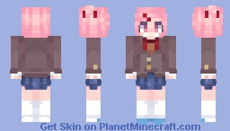 Natsuki~ Minecraft Skin