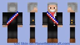 Chilean President Sebastian Piñera 2.0 Minecraft Skin